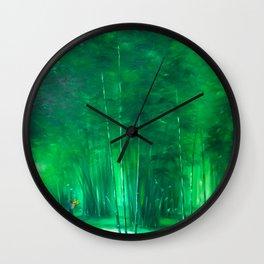 A Walk In Vietnam Wall Clock