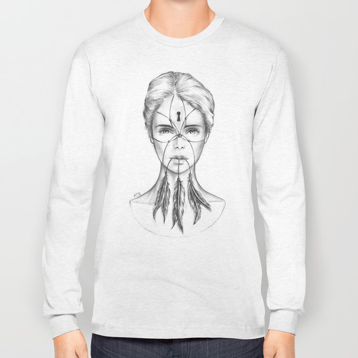 Dreamkeeper (B/W) Long Sleeve T-shirt