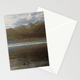 Yet another lake & mountain landscape | 1 Stationery Cards