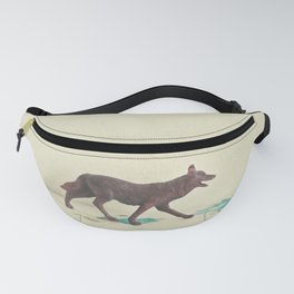 Wandering Wolf Fanny Pack