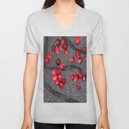 Sparkle Lace Cranberries Unisex V-Neck
