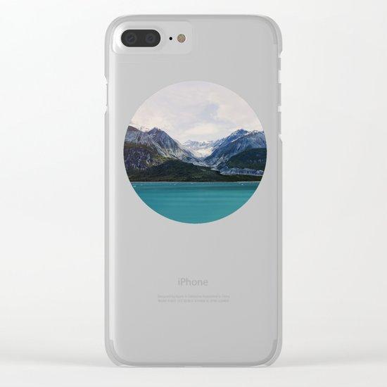 Alaska Wilderness Clear iPhone Case
