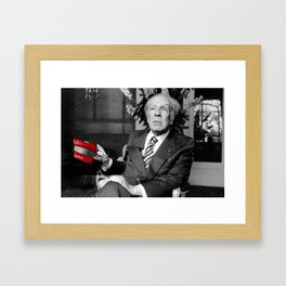#114 Borges view Framed Art Print