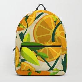 Mediterranean Oranges Backpack