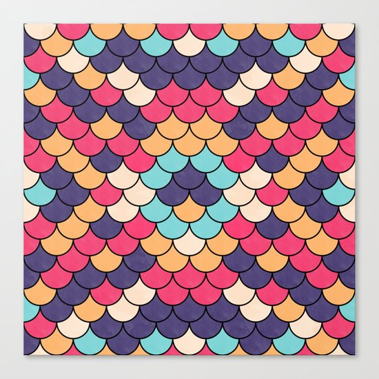 Lovely Pattern CIII Canvas Print