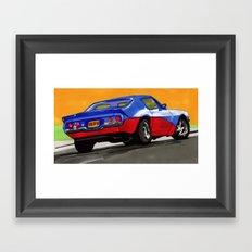 Fast & Furious Framed Art Print