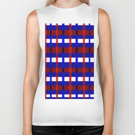 Red, White, and Blue Biker Tank