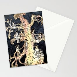 Twelve twins twirled twelve twigs Stationery Cards