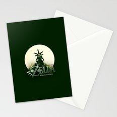 Zelda Mask Stationery Cards