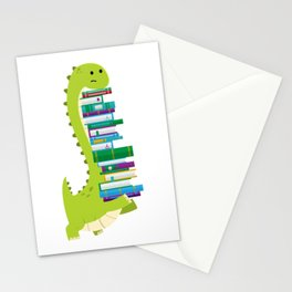 The Geek Brachiosaurus Stationery Cards