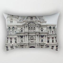 philadelphia city hall Rectangular Pillow