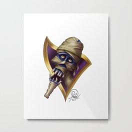 Pharrell Portrait Metal Print