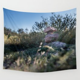 Rock Stacking Wall Tapestry