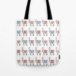 Llama Alpaca Tote Bag