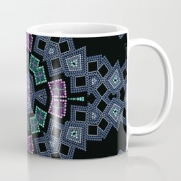Embroidered beads pattern 1 Coffee Mug