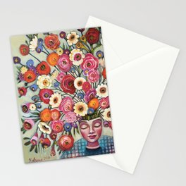Your thoughts are seeds Stationery Cards