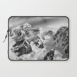 Denali Massif from the Air - Denali & Foraker Laptop Sleeve