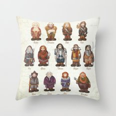 dwarves  Throw Pillow