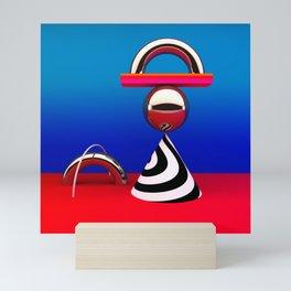 modern still life Mini Art Print