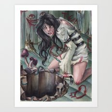 Torture of Wonderland  Art Print