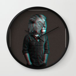 The Lion man Wall Clock