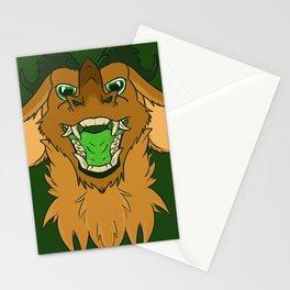 Demonic Gold Stationery Cards