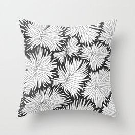 Anemone x 1 Throw Pillow