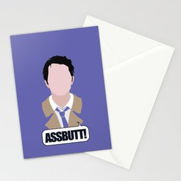 3 Castiel Novak Stationery Cards