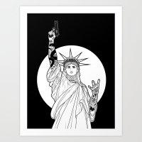 Gangs of New York Art Print