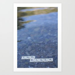 The river Part 2 Art Print