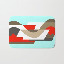 SUISSE - Art Deco Modern: SIXTIES OFFICE Bath Mat