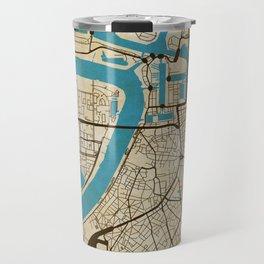Antwerp (grunge) Travel Mug