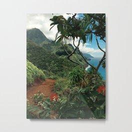 Kalalau Kauai Metal Print
