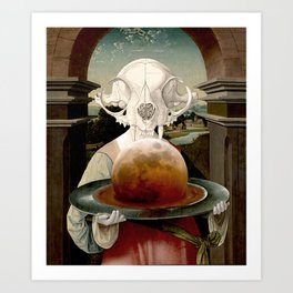 SUPERSTITION Art Print