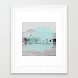 Blue Texas / Marfa Framed Art Print