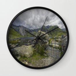 Gate To The Lake Wall Clock