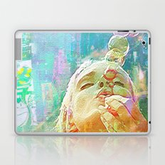 Soap bubbles  Girl Laptop & iPad Skin