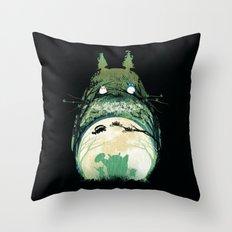 My Happy Neighbor Throw Pillow