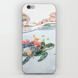 Coral Turtle • Save the Planet iPhone Skin