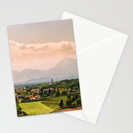 sunny spring day in the countryside Stationery Cards