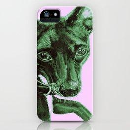 Zala (Pink) iPhone Case