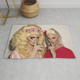 Trixie Mattel and Katya Zamolodchikova Rug