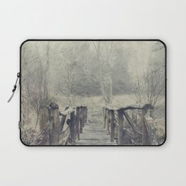 a Bridge to Cross Laptop Sleeve