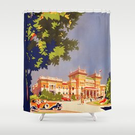 Salsomaggiore Italy 1920s Shower Curtain