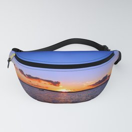 Sunset on the River in Georgetown Fanny Pack