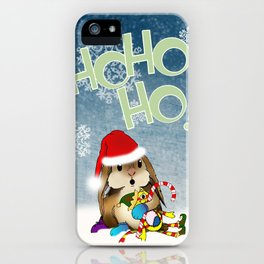 Currier & Bunnies: HO HO HO iPhone Case
