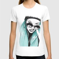 turquoise T-shirts featuring Turquoise by HausOfAx