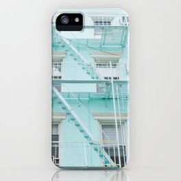 Blue in NYC iPhone Case