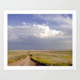 The Road to Somewhere Art Print
