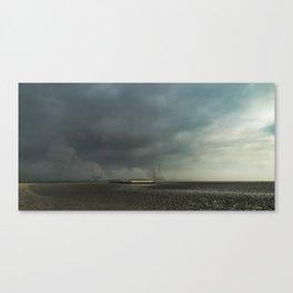 The Gold Coast, Sandymount Dublin Canvas Print